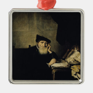 A Philosopher in his Study Christmas Ornament