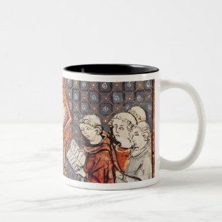 A Philosopher teaching in Paris Two-Tone Coffee Mug