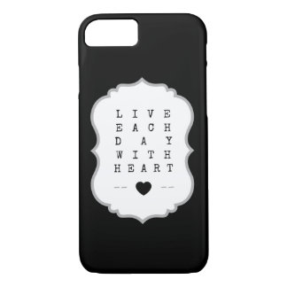 A philosophy to live by! iPhone 8/7 case