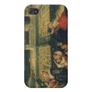 A Picnic in a Park Case For iPhone 4