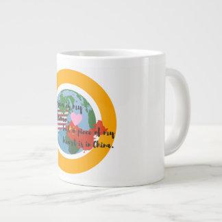 A Piece of My Heart is in China Jumbo Mug