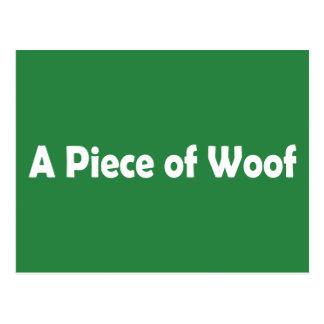 A Piece of Woof Postcard