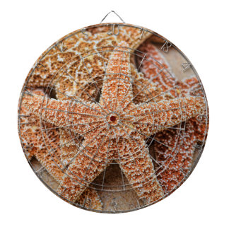 A Pile of Large Sugar Starfish Dart Boards