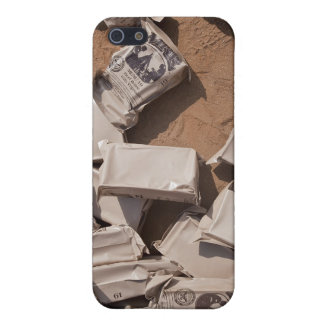 A pile of Meals Ready to Eat iPhone 5 Case