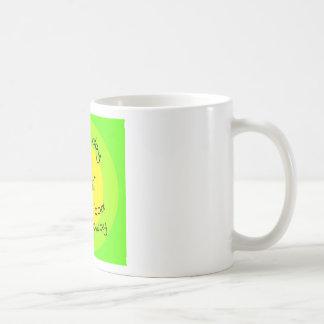 A pill a day basic white mug
