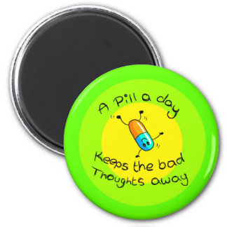 A pill a day magnets