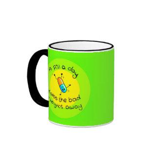 A pill a day mug