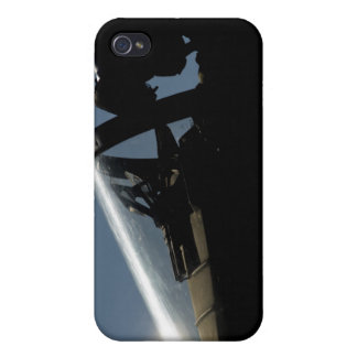 A pilot prepares for take-off case for the iPhone 4