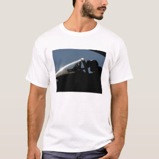 A pilot prepares for take-off T-Shirt