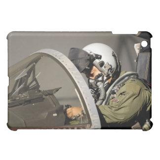 A pilot prepares his F-15A Eagle iPad Mini Covers