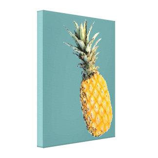 a pineapple canvas print