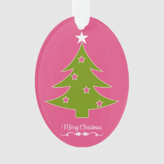 A Pink Christmas Ornament