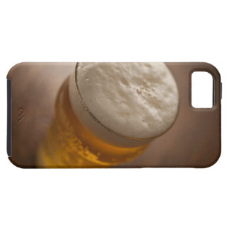A pint of lager, back lir shallow focus rustic iPhone 5 cases