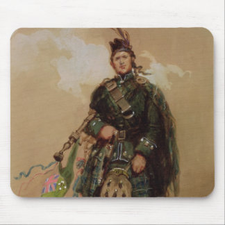 A Piper of the 79th Highlanders at Chobham Mouse Mat