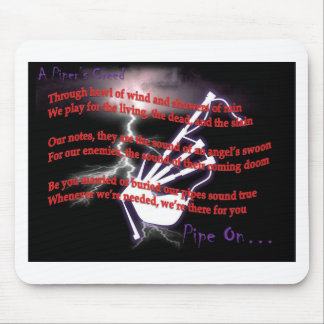 A Piper's Creed (Lightning) Mouse Mat