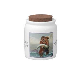 A Pirate's Fish Tale Candy Jar