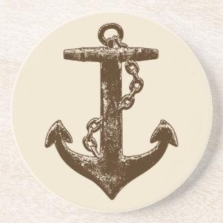 A Pirates Life anchorcoaster_1 Sandstone Coaster