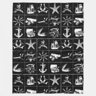 A Pirates Life Blanket_4 Fleece Blanket