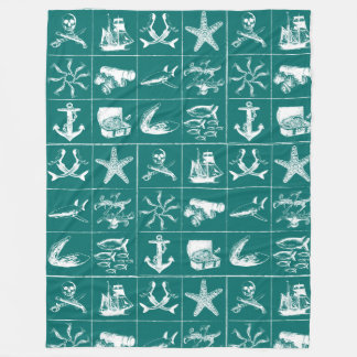 A Pirates Life Blanket_5 Fleece Blanket