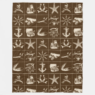 A Pirates Life Blanket_7 Fleece Blanket