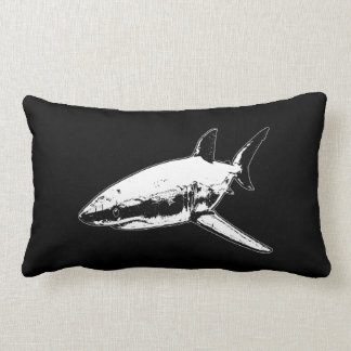 A Pirates Life doublesidedsharkpillow_1 Lumbar Cushion