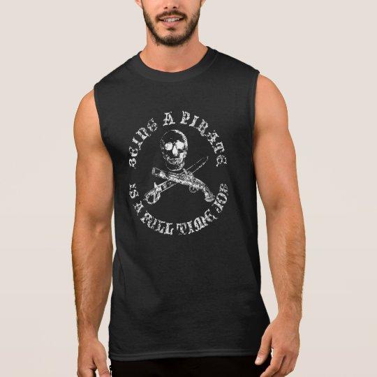 A Pirates Life fulltimeSKULLSHIRT_4 Sleeveless Shirt