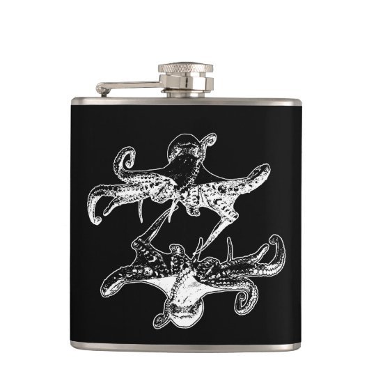 A Pirates Life krakenflask_3 Hip Flask