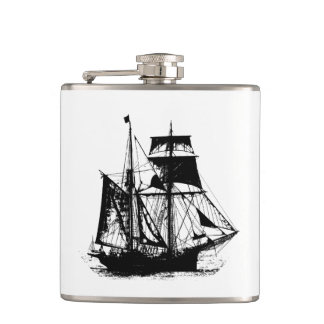 A Pirates Life ship_1 Flask