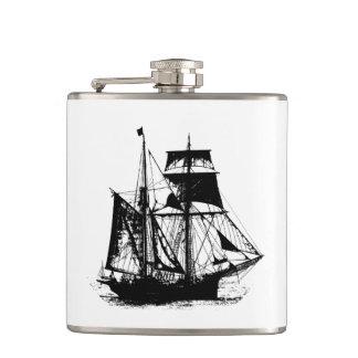 A Pirates Life ship_1 Hip Flask