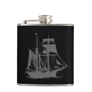 A Pirates Life ship_3 Hip Flask