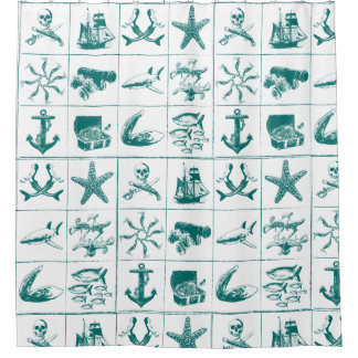 A Pirates Life showercurtain_1 Shower Curtain
