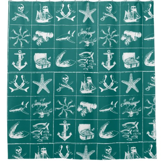 A Pirates Life showercurtain_2 Shower Curtain