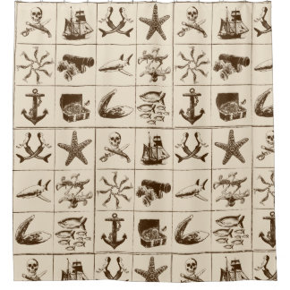 A Pirates Life showercurtain_3 Shower Curtain
