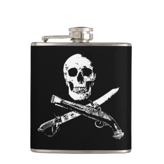 A Pirates Life skullflask_2 Flasks