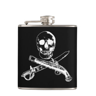 A Pirates Life skullflask_4 Hip Flask