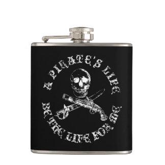 A Pirates Life skullflask_8 Hip Flask