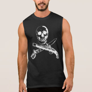 A Pirates Life SKULLSHIRT_4 Sleeveless Shirt