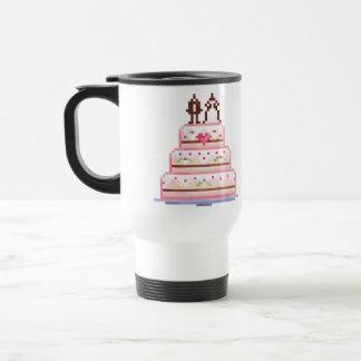 a pixel wedding ♥ mug
