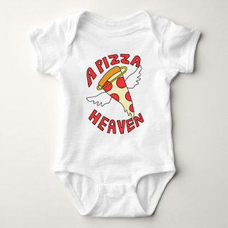 A Pizza Heaven Baby Bodysuit