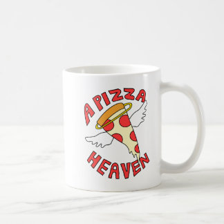 A Pizza Heaven Coffee Mug