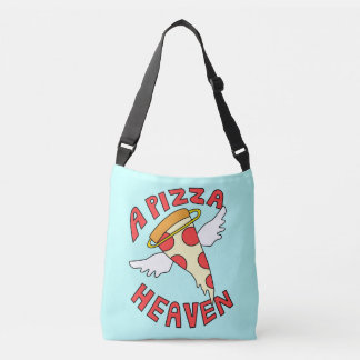 A Pizza Heaven Crossbody Bag