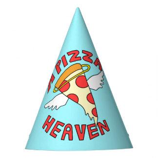 A Pizza Heaven Party Hat