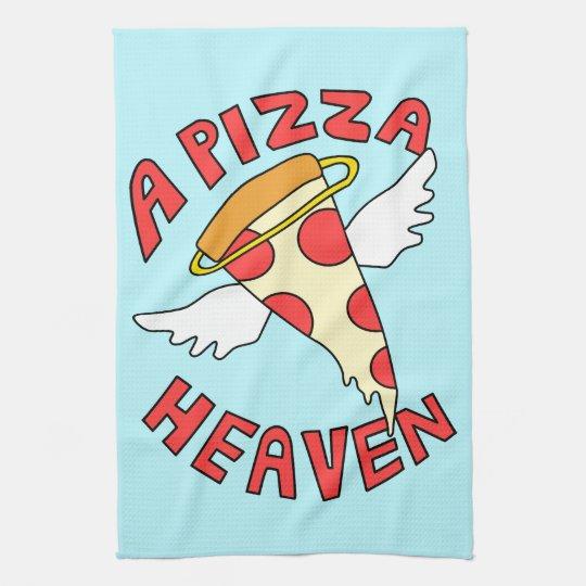 A Pizza Heaven Tea Towel