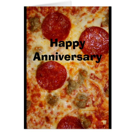 A Pizza My Heart Belongs To You Anniversary