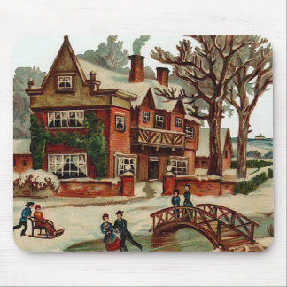 A Place for Christmas Mouse Mat