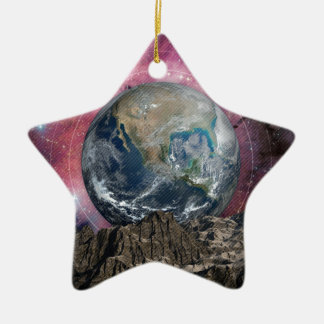 A Place In Space Ceramic Star Decoration