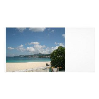 A Place in the sun Custom Photo Card