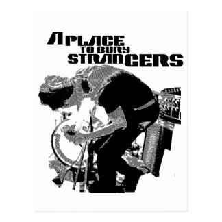 A Place to Bury Strangers Poster Postcard