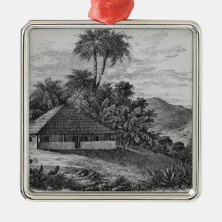 A Planter's House in Brazil Christmas Ornament