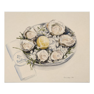 A Plate of Oysters 2012 Poster